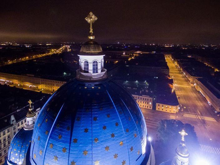 Аэро фото и видео съёмка в СПб