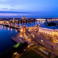 Aerial photo and video shooting. Saint-Petersburg.