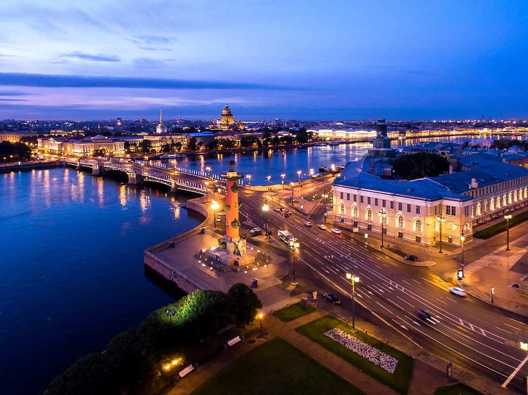 Aerial photo and video shooting. Saint-Petersburg.