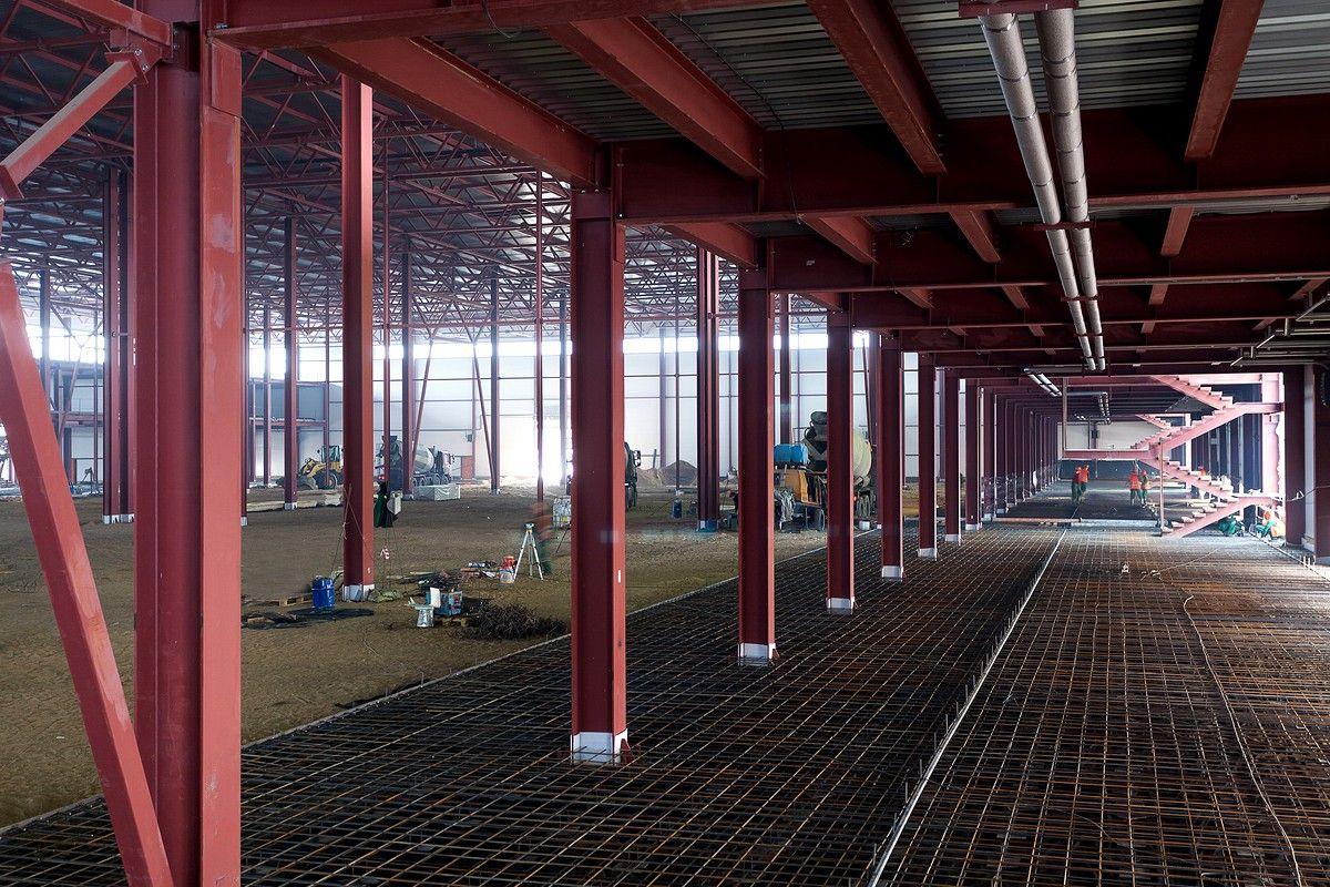 Металлоконструкции строительства склада