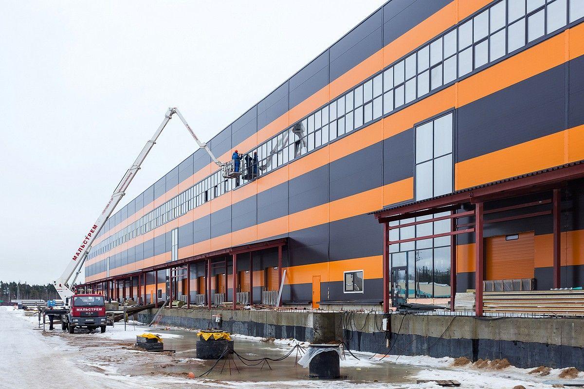 Строительство склада. Наружные работы