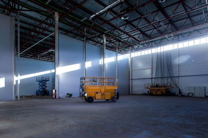Промышленная съемка склада