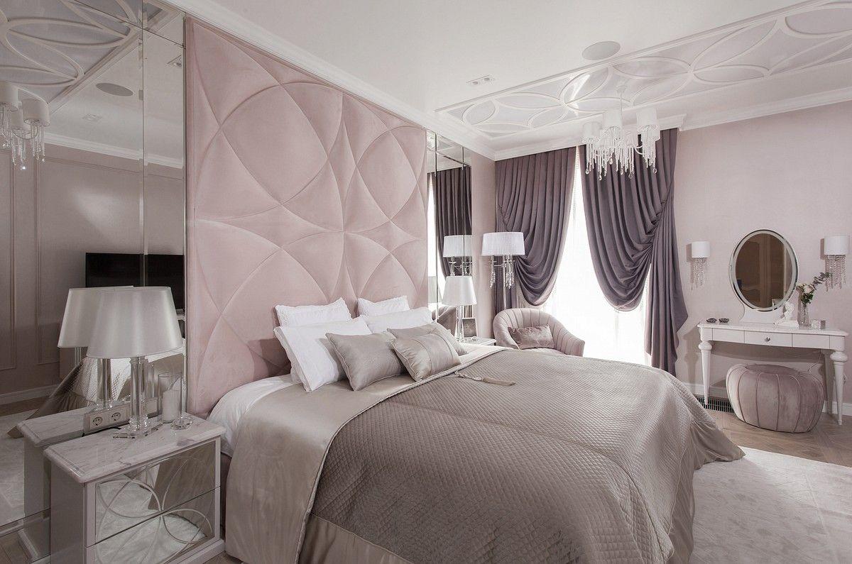 Интерьерное фото спальни авторский дизайн