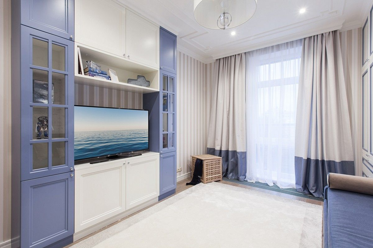 Интерьерное фото детской комнаты для мальчика авторский дизайн