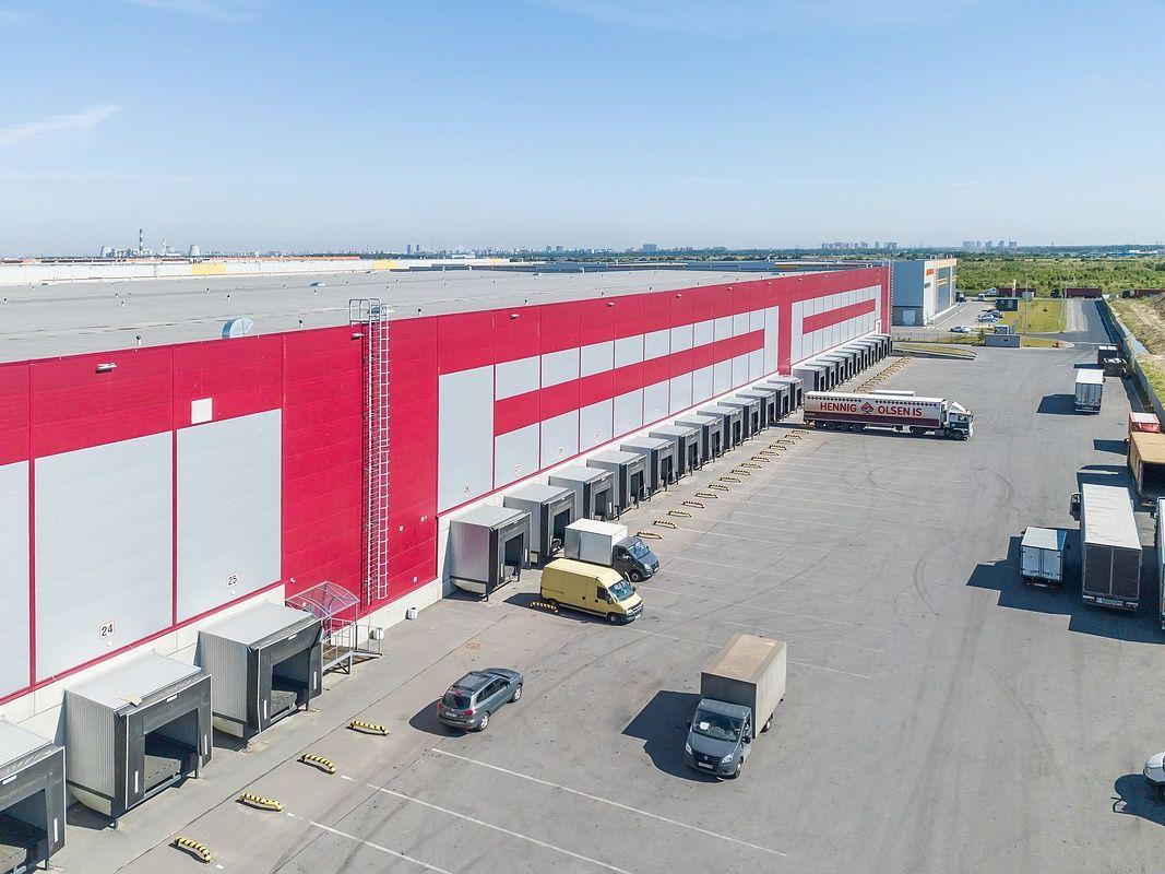 Аэро съемка складских помещений и распределительного центра