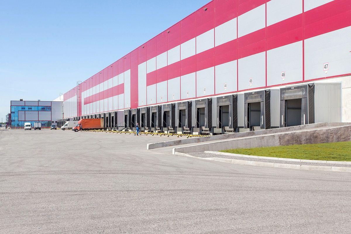 Промышленное фото складских помещений и распределительного центра Карусель