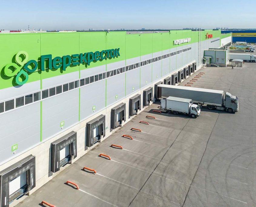 Аэро фотосъемка складских помещений и распределительного центра