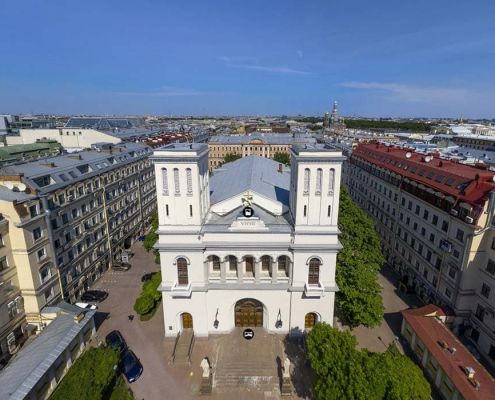 Церковь Святых Петра и Павла для немецких партнеров